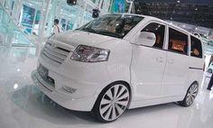 Modif Suzuki APV Putih Wallpaper