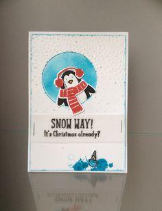 Met de nieuwe catalogus is er ook een hele leuke bundle uitgekomen: 'Snow Place Stamp Set + Snow Friends Framelits Dies'. Deze is echt té le...