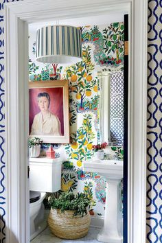 I want to makeover our bathroom in a funky way!