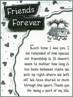 Marla Del Rio saved to Mountain Arts Friends Forever by Marci Miniature Easel-Back Print with Magnet vince lombardi top inspirational on smile, on wood elegant chandelier. Special Friend Quotes, Best Friend Quotes, Special Friends, Real Friends, Friend Sayings, Sister Friend Quotes, Sister Friends, Friend Goals, Sister Gifts