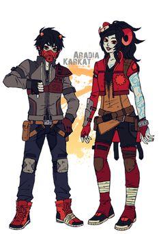 Karkat and Aradia