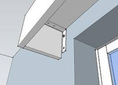 Image result for curtain pelmet box