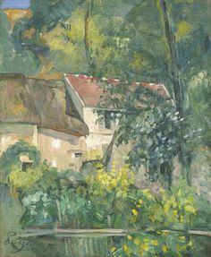 Paul Cézanne (French, 1839-1906), House of Père Lacroix, 1873. Oil on canvas, 61.3 x 50.6 cm.