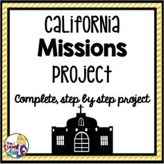 California 4th graders typically do a Mission Project as part of their California social studies learning. This Mission Project is filled with everything you'll need to help your students create a top quality report and presentation. It includes editable forms to allow you to customize some of the handouts as well.
