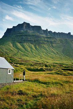 Húsavík cabin by Jos Mecklenfeld, via Flickr