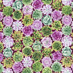 RJR Fabrics - Oasis 2886-002 PERENNIAL PARADISE-THISTLE