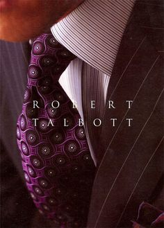Robert Talbott clothing by Dann Mens Clothing. We are a full line source for Robert Talbott shirts, ties, belts, sweaters and accessories. Dapper Gentleman, Gentleman Style, Sharp Dressed Man, Well Dressed Men, Costume En Lin, Designer Suits For Men, Men Formal, Fine Men, Suit And Tie