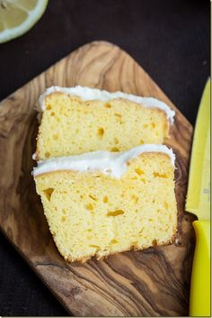 Starbucks' Lemon Loaf Cake -  the True Copycat Recipe #Food-Drink