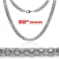 Triple Boa - Tri-Circle Stainless Steel Modern Touch Classic Design Necklace