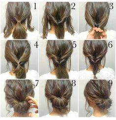 Easy, hope this works out quick morning hair!