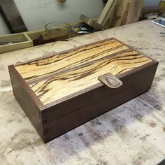 Zebrawood Keepsake Box - by Christian Holihan @ LumberJocks.com ~ woodworking community