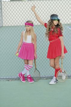 Match Point in Taylor Joelle Designs Cute Kids Fashion, Tween Fashion, Girl Fashion, Fashion Blogs, Kids Outfits Girls, Tween Girls, Tennis Clothes, Dope Clothes, Khia Lopez
