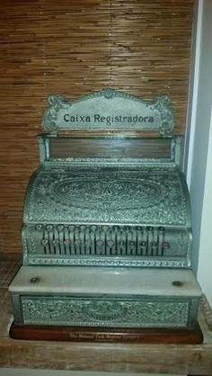 antiga maquina registradora