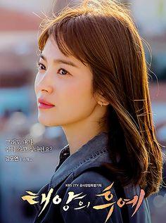 Descendants of the Sun starring Song Hye Gyo as Kang Mo Yeon