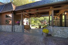 Rustic Garage Addition & Breezeway