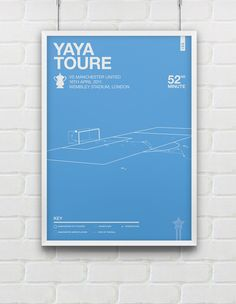 16th April 2011 - Yaya Toure intercepts a Michael Carrick pass to break away and score the only goal in the FA Cup Semi Final, against rivals Manchester United. Sending the fans in to raptures and the team to their first FA Cup final in over 30 years.  A1 / A2 / A3 giclee prints. Part of the Significant Moments In English Football Series Ref: 480112  ---------------  Dimensions A3 = 29.7cm x 42cm A2 = 42cm x 59.4cm A1 = 59.4cm x 84.1cm  All prints are printed & trimmed by hand in England…