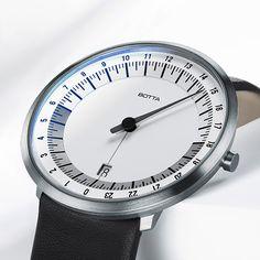 24 Stunden Uhr • UNO 24 Einzeigeruhr online | Botta Design