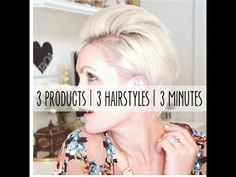 how to style a pixie haircut 3 different ways in 3 minutes - YouTube
