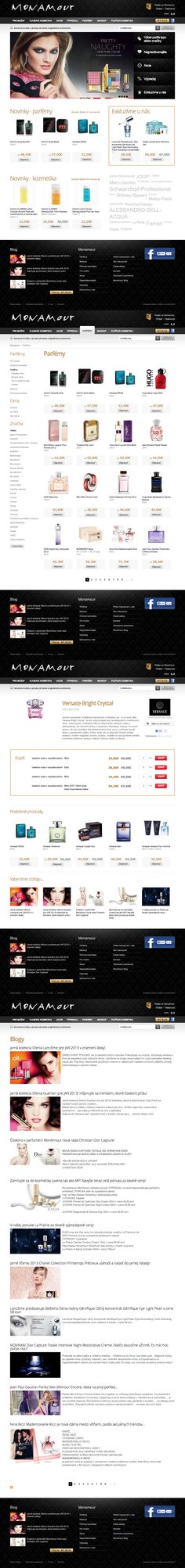 Web design - Monamour.sk Marlow, Web Design, Image, Design Web, Website Designs, Site Design