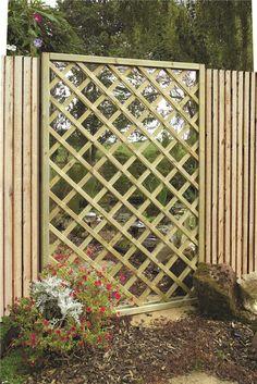 Garden Mirrors Lattice Screen Panel   Garden Mirrors. Outdoor Mirrors & Illusion Mirrors   Products