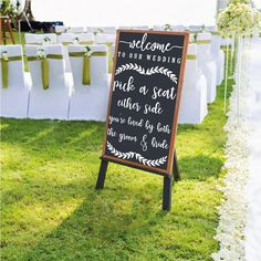 Wedding Welcome Acrylic Lucite Sign V1 Welcome To Our Wedding Customized Personalized Sign Weddings Wedding Signs Chalkboard Mirrors rustic wooden sign calligraphy