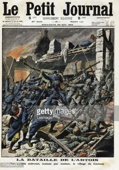 May 30, 1915 - French magazine cover depicts the Battle of Artois on the Western Front