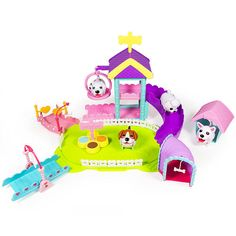 """Chubby Puppies Ultimate Dog Park Playset - Spin Master - Toys """"R"""" Us"""