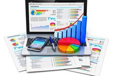 Mobile office work, stock exchange market trading, statistics accounting, development and banking business concept Stock Photo , Inbound Marketing, Marketing Digital, Content Marketing, Internet Marketing, Stock Exchange Market, Stock Market, Innovation, Bookkeeping Services, Accounting