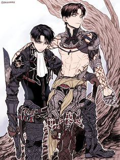Attack on Titan (SnK) - Eren Yeager x Levi Ackerman - Ereri Ereri, Attack On Titan Ships, Attack On Titan Anime, Chibi, Eren E Levi, Armin, Film Manga, Boy Photo Shoot, Captain Levi