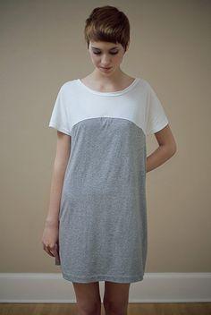 Sample SALE Colorblock Dress M/L by RiordanRoache on Etsy, $51.99