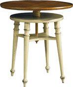 """Baker Furniture Roulette Twist Table 21""""d x 20""""h"""
