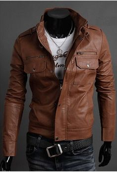 Faux Leather Jacket http://www.his.boutique/collections/jackets/products/men-s-faux-leather-jacket