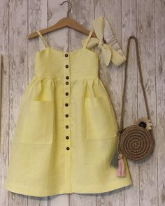 Best 12 The Abigail pinafore – SkillOfKing. Baby Girl Fashion, Toddler Fashion, Kids Fashion, Toddler Dress, Toddler Outfits, Kids Outfits, Baby Clothes Patterns, Girl Dress Patterns, Baby Dress Design