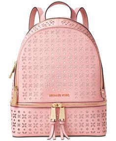 MICHAEL Michael Kors Rhea Zip Medium Backpack   macys.com · Michael Kors  PursesBackpack HandbagsBuy ...