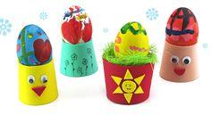 velikonoční stojánky na vajíčka z pěnovky