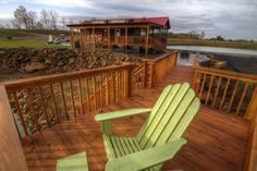 Smith Lake RV & Cabin Resort - Upgrades - add a deck or private pier to your new phase 2 pond lot.