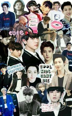 Exo chanyeol collage