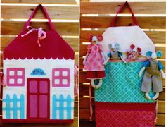 PATTERN - The Nibbles Family & Carry-All House - fun softie toy and bag…