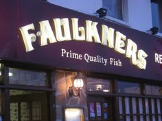 Faulkners Fish Restaurant, Kingsland Road, London