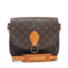 Louis Vuitton Monogram Canvas St Cloud Crossbody Bag