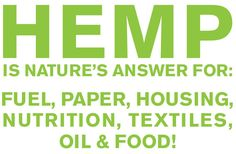 Hemp uses #holistic #wellness