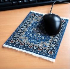 Rugs come in all sizes, including mouse pad size!