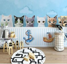 Cartoon 8D wall stickers for Kids rooms  Price: 23.60 & FREE Shipping  #Health #Beauty #Electronics #Kids #Toys #Sports #Fitness #Survival
