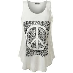 URBANCLEO Womens Hipster Hip Hop Graphic Print Tank Top Various... ($18) ❤ liked on Polyvore featuring tops, print tank, graphic tanks, patterned tops, hipster tank tops and graphic tops