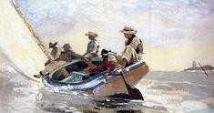 Winslow Homer, Sailing The Catboat