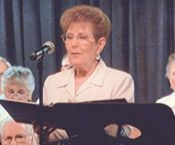 """Cedar Crest resident: Blanche Blitzer. The Cedar Crest Singers was created for music lovers by music lovers, says Blanche Blitzer, the group's codirector. """"No matter your experience or voice, we're open to any new members."""" Blanche says. """" All you have to do is love to sing."""" Twice a year, the group shares its joyful sounds in spring and winter concerts.  Meet other Cedar Crest residents: http://www.ericksonliving.com/northern-new-jersey/northern-nj-retirement-lifestyle.asp"""