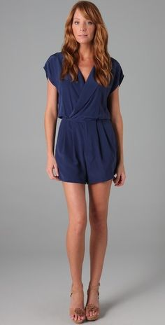 Rory Beca La Boca Wrap Romper...clearly I'm obsessed with rompers right now.