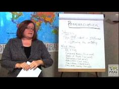 TEFL Class Instruction: How to Teach Pronunciation Skills in the ESL Classroom