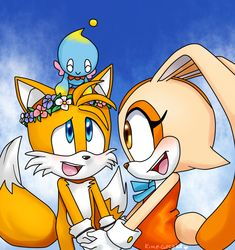 Taiream by Kime-Cupcake Sonic The Hedgehog, Silver The Hedgehog, Sonic Fan Characters, Cute Characters, Sonic Y Amy, Cream Sonic, Robot, Sonic Generations, Sonic Heroes