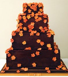 Pretty fall-themed cakes~